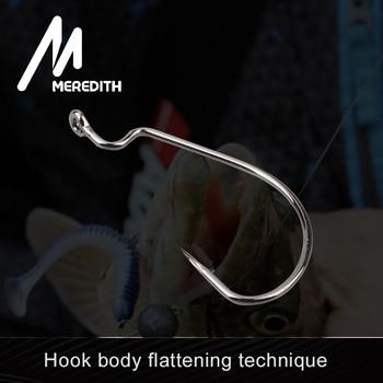 Best MEREDITH 50pcs/lot Fishing Soft Worm Hooks Fishhooks cb5feb1b7314637725a2e7: 1|10|2|20|30|4|40|50|6|8
