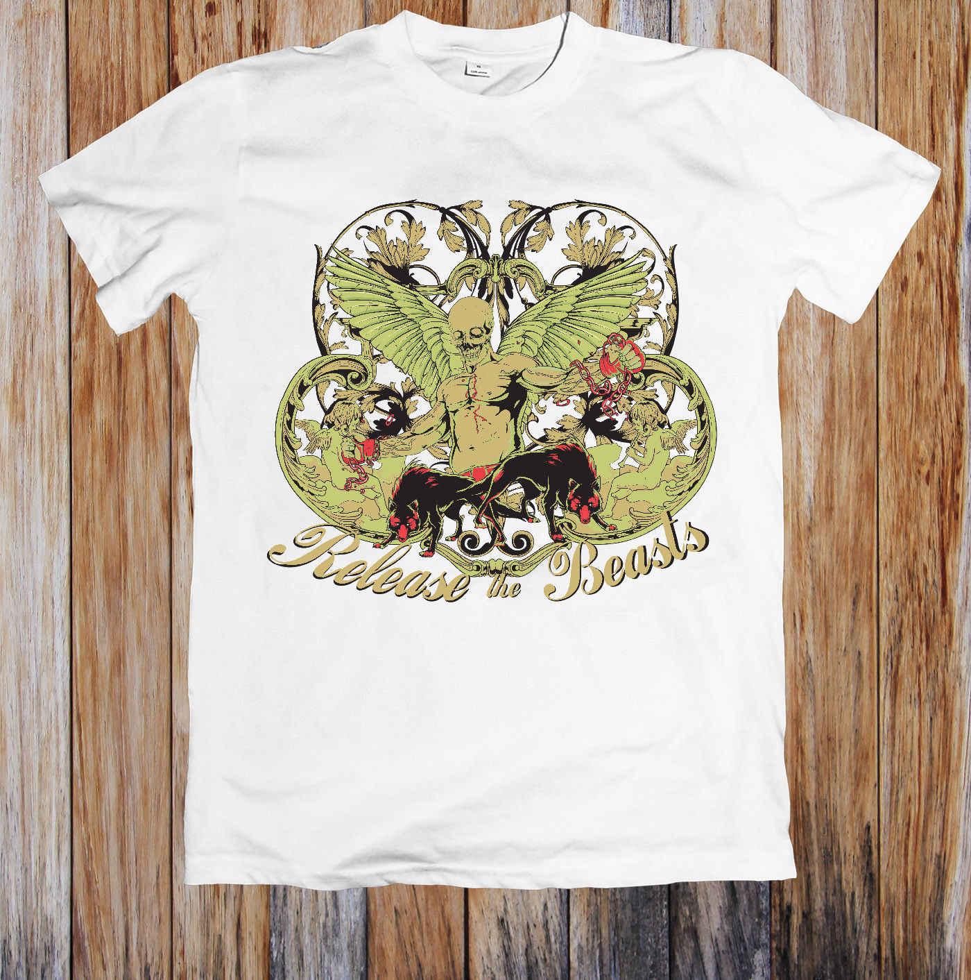 切腹リリース獣ユニセックス Tシャツスタイルラウンドスタイル tシャツ tシャツパーカーヒップホップ tシャツジャケットクロアチア革 tシャツ