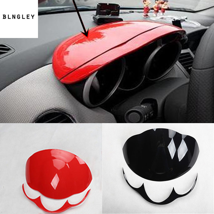 2pcs lot ABS material instrument board decoration cover for 2009 2013 Chevrolet Chevy Cruze