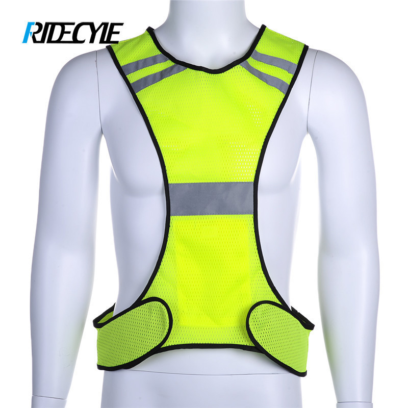 Quality 2019 Latest Design Reflective Safety Vest Cycling Bike Bicycle Vest Sleeveless Night Running Security Riding Outdoor Protection Excellent In