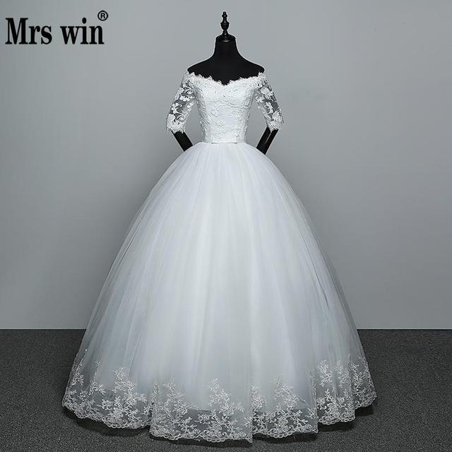 Wedding Dress 2018 New Arrival Flowers Butterfly Gelinlik