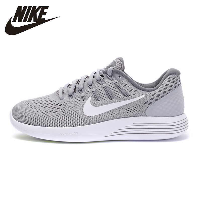 Nike Original New Arrival LUNARGLIDE 8 Women's Running Shoes Breathable Wearable Outdoor Sneakers 843726-002