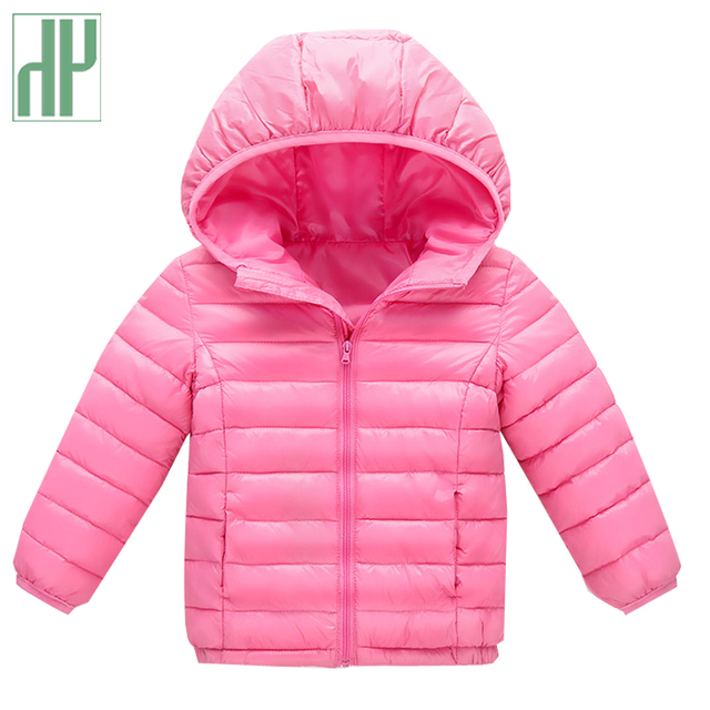 314151ce6d87 HH Baby boy clothes Cotton Down Jackets parkas for girl children s ...