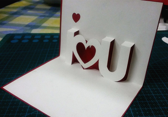 I love you 3 d greeting card paper carving creative diy manual diy i love you 3 d greeting card paper carving creative diy manual diy romantic love birthday m4hsunfo