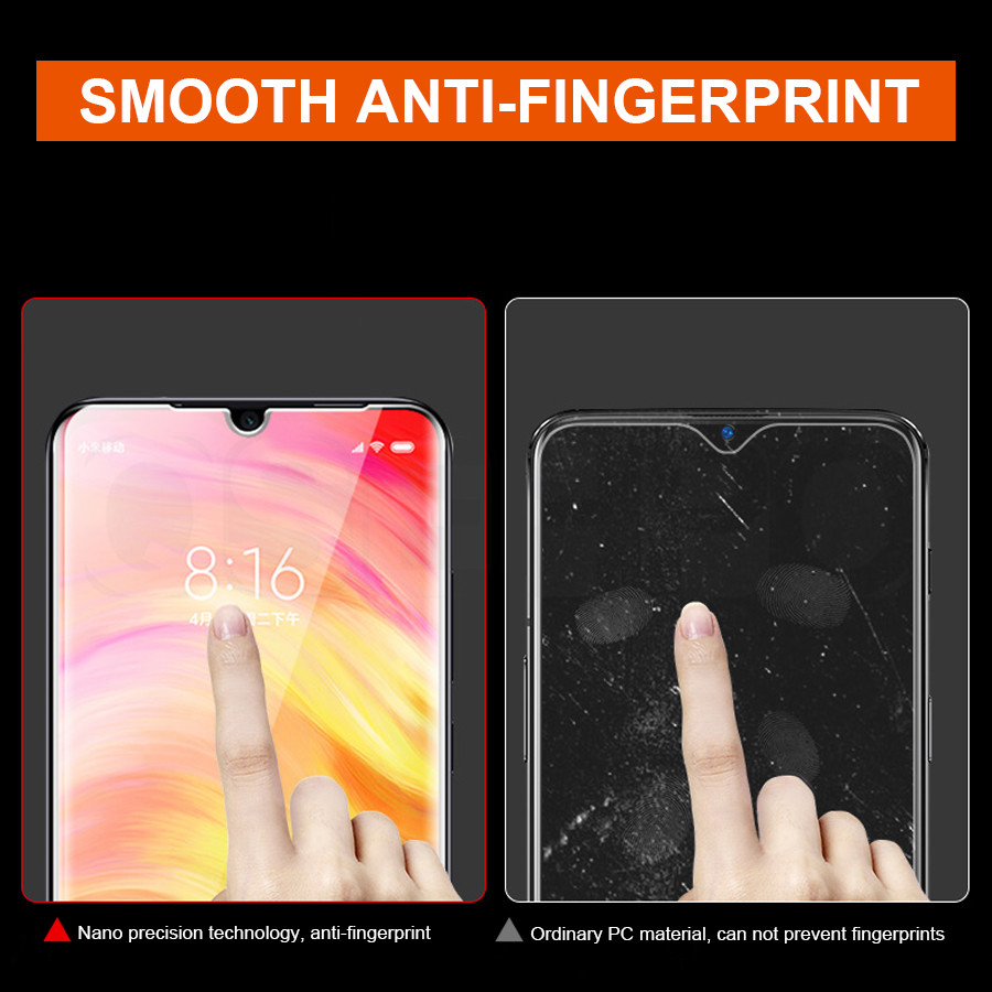 Image 3 - Full Glue Protective Glass For Xiaomi Mi 9 SE 9T CC9 CC9E A3 Lite Screen Protector For Redmi 7 7A K20 Note 7 Pro Tempered Glass-in Phone Screen Protectors from Cellphones & Telecommunications