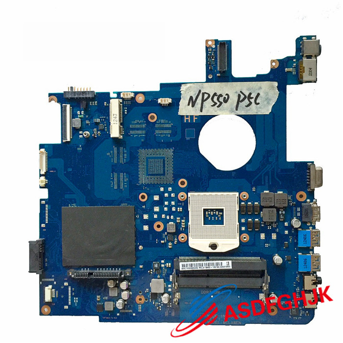 Original FOR Samsung NP550P5C 550P5C np550 Laptop Motherboard Motherboard BA92-10614A BA41-01900A Fully tested