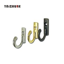 28*22 Mm 40 PCS Kunci Mini Gantungan Baju, gaya Antik Alloy Hook Furnitur Dekoratif Papan Kayu Dipasang Jubah Kait(China)