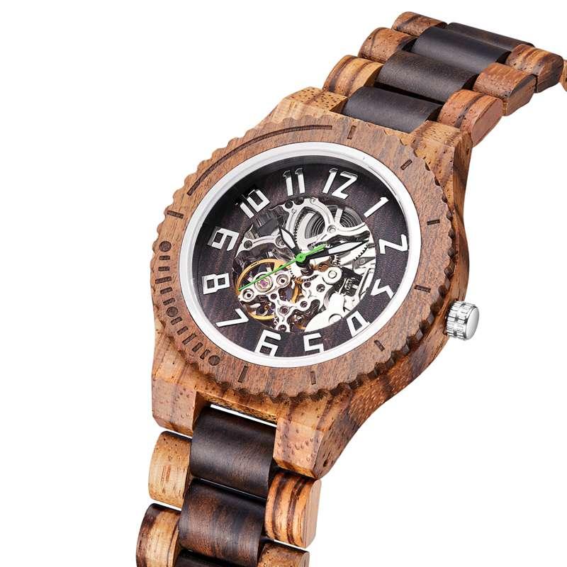 Wood Watch  Quartz Watches   Wooden   Wooden Watch  Men1- (2)