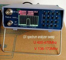 UV Segment Spectrum U400-470Mhz V136-173Mhz Analyzer Sweep Adjustment Repeater