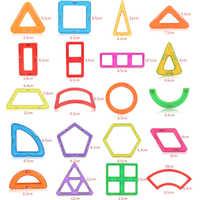 1 stücke Magnetische DIY bausteine teile konstruktion spielzeug für kleinkinder Designer magnetische spielzeug Magnet modell gebäude spielzeug