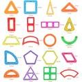 1 unids piezas de bloques de construcción de juguetes Magnéticos de construcción de BRICOLAJE para niños De Diseño magnético del Imán juguetes modelo juguetes de construcción