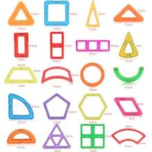 1pcs Magnetic DIY font b building b font blocks parts construction toys for toddlers Designer magnetic