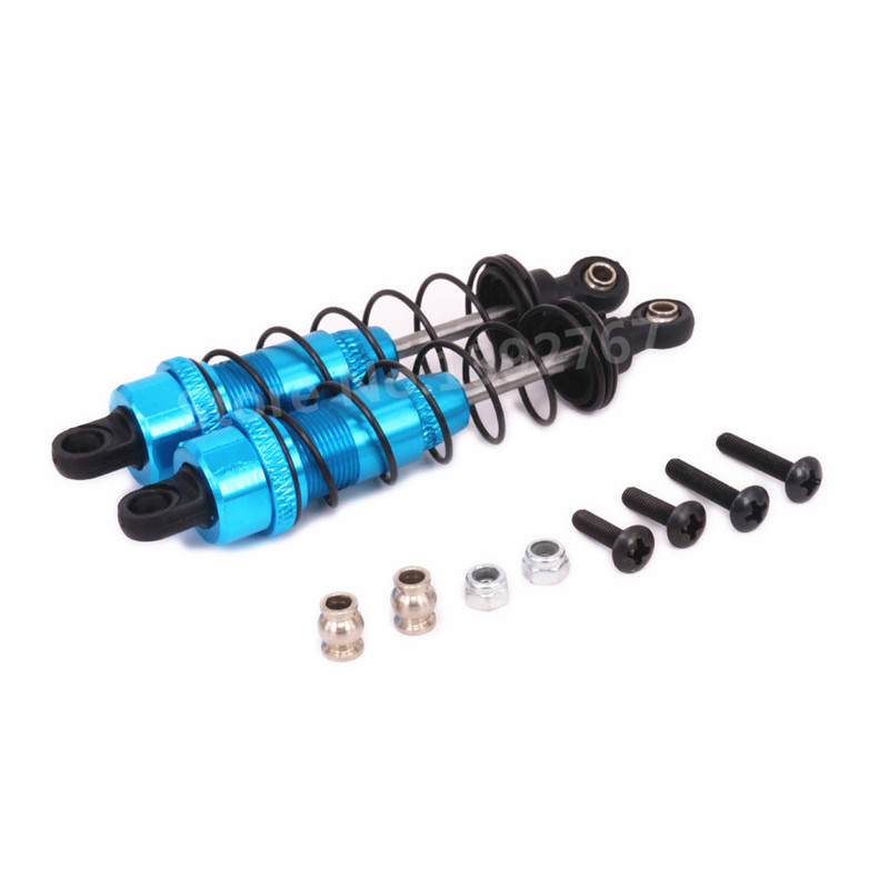 Alum Front Shock Absorber 2P Black For RC  Kyosho 1//10 4WD Optima Buggy