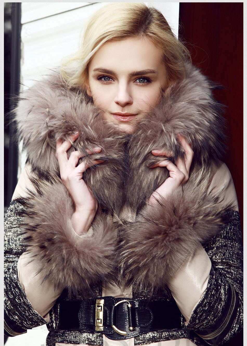 Popular Winter Jacket Real Fur Famous Brand-Buy Cheap Winter ...