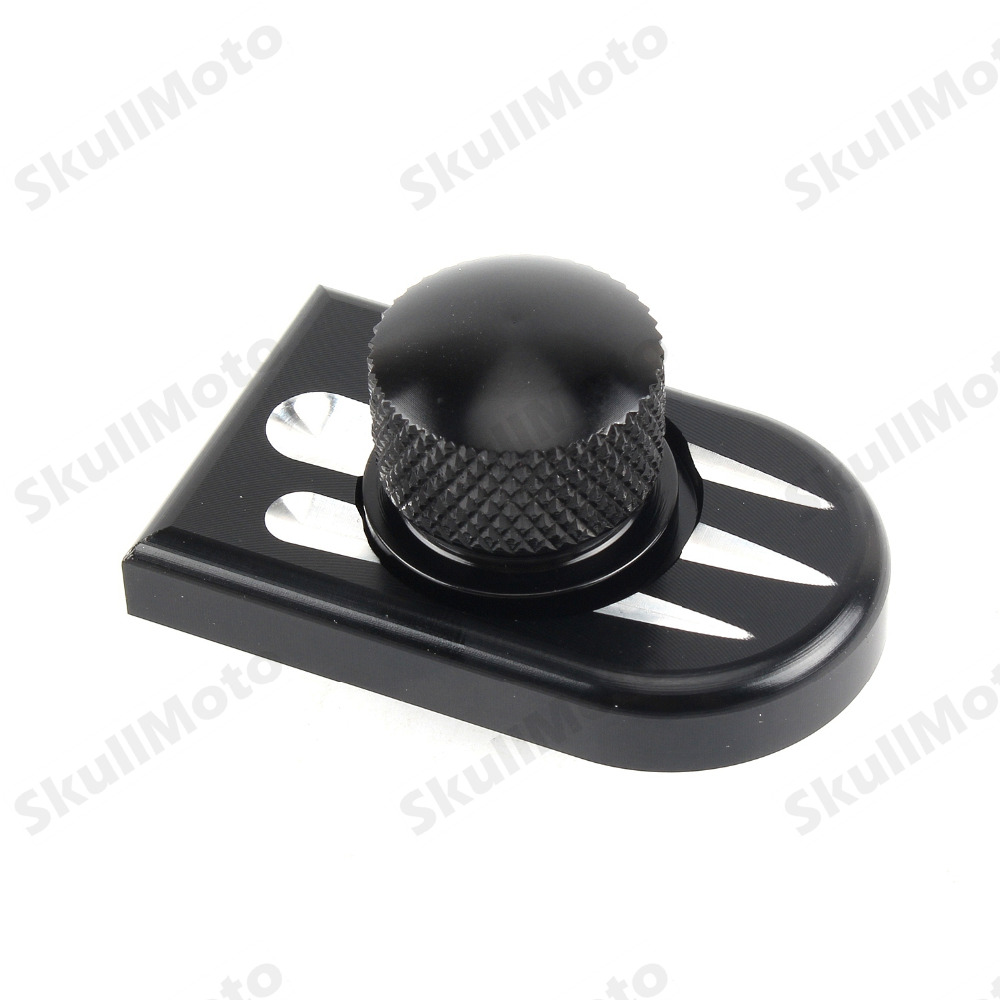 1//4-20 Motorcycle Pad Seat Bolt Tab CNC Screw Mount Knob Cover Universal Scooter