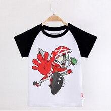 цена на Kids Clothing Football Zombies T-shirts For Boys 100 Cotton Short Sleeve Raglan Boy Tee Shirts Girl Clothes Tops Camiseta Baby