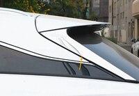 JY SUS304 Rear Window Side Triangle Sill Trim Car Styling Accessories For LEXUS RX 200t 350