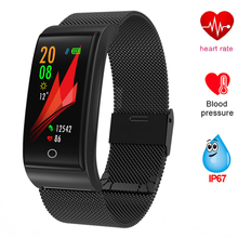 GIMTO Smart Bracelet Measurement Of Pressure And Pulse Watch Blood Fitness Tracker Men Health Wristband