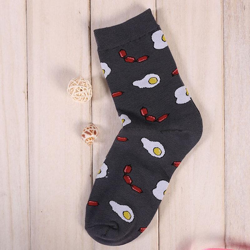 Mens Pamuk Gıda Çorap Kintting Yaratıcı Moda Karakter Karikatür - İç Giyim - Fotoğraf 6