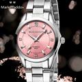 Maddox Marca de Lujo del relogio Mujeres reloj suizo de la marca de Moda Casual impermeable de los relojes reloj de las mujeres Vestido de la manera Del reloj del Rhinestone