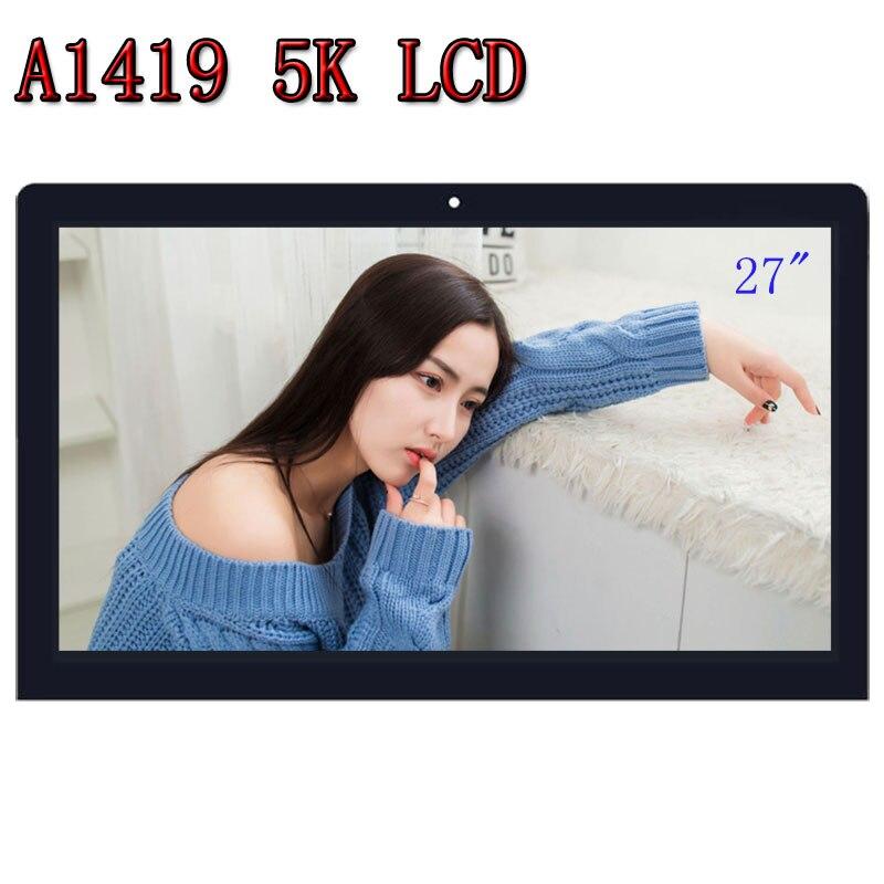 Nuevo 27 A1419 5 K IPS Retina pantalla LCD con montaje de vidrio LM270QQ1 SD B1 para iMac MK462 472 a finales de 2015, EMC2806 661-03255