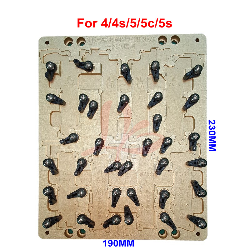 No Tax LY CNC 8 In 1 Mobile Mould And Mobile Jig For Apple Mobiles 4 4s 5 5c 5s For Ic Cnc Machine