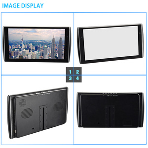 Image 4 - XST 2PCS 11.6 inch Ultra thin Car Headrest Monitor HD 1080P Video LCD Screen MP5 Player With USB/SD/HDMI/FM/Speaker