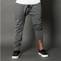 2017 Spring Fashion Mens Joggers Pencil Harem Pants Gymshark Gyms Clothing Gasp Bodybuilding Engineers Fitness Sweatpants