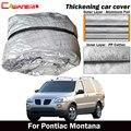 Cawanerl для Pontiac Монтана SWB водонепроницаемый чехол для автомобиля внутри хлопок анти-УФ Защита от солнца дождь град снег Защита от пыли