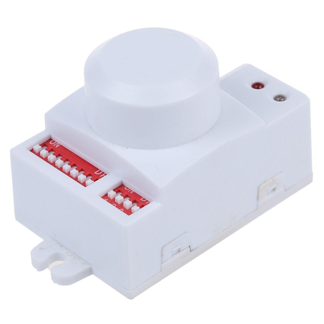 все цены на WSFS Hot Microwave motion sensor switch Doppler Radar Wireless Module for lighting 220V - White онлайн