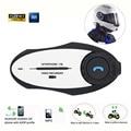 Free ship! BT Bluetooth helmet Interphone Video Intercom Headset FM+ Recorder mini sports action camera for Motorcycle Bike Ski