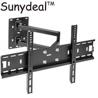 For Samsung Sony Panasonic Sharp LG Full Motion TV Wall Mount Tilt Swivel Bracket 40 42