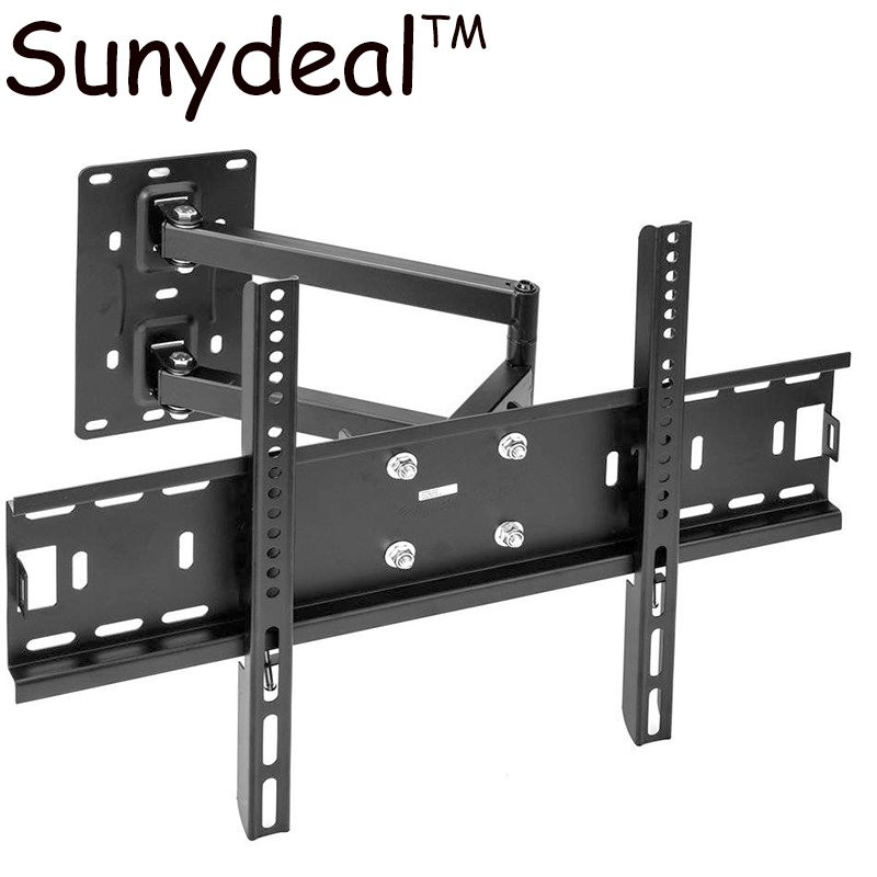 For Samsung/Panasonic Full Motion TV Wall Mount Tilt Swivel Bracket 40 42 47 55 60 65 70 ...