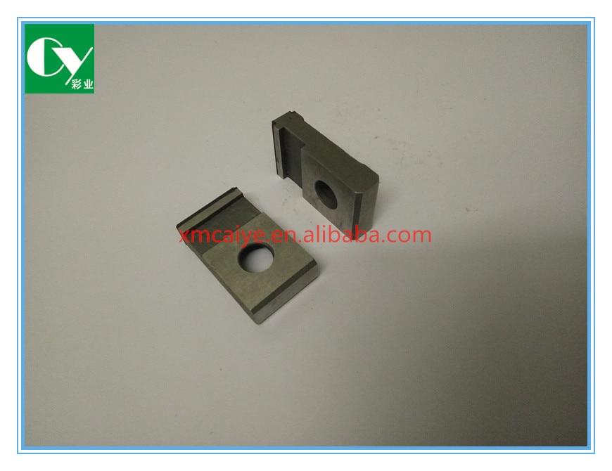 KBA printer machine parts gripper P0135240 KBA 105 gripper pad 30 17 7mm