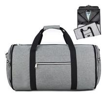 Мужская сумка-трансформер 2 в 1 Gar с ремешком на плечо, роскошная мужская спортивная сумка Gar для мужчин и женщин, подвесной чемодан, сумка для путешествий
