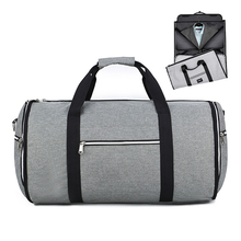 Convertible 2 in 1 Garment Bag with Shoulder Strap,