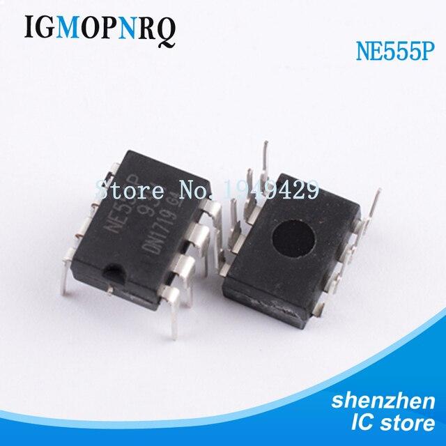 50PCS/lot NE555P DIP8 NE555 NE555N Timer and support products Precision New original