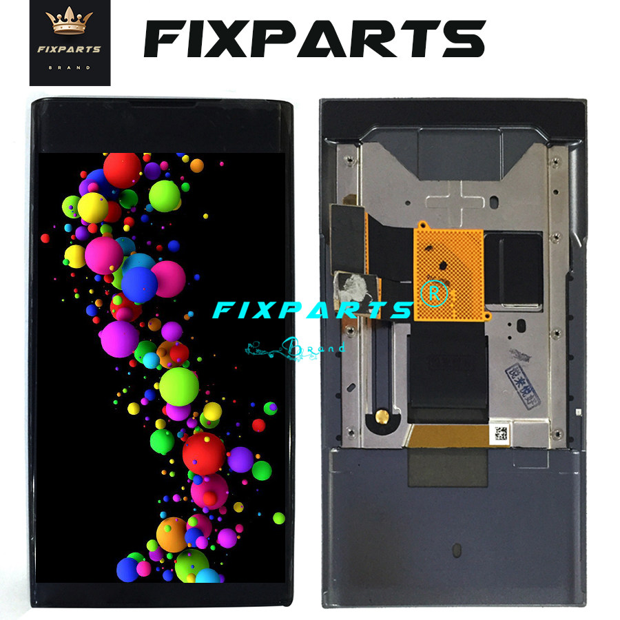 Premium Quality Color : Black Black LCD Screen and Digitizer Full Assembly for BlackBerry Motion Replacement Part
