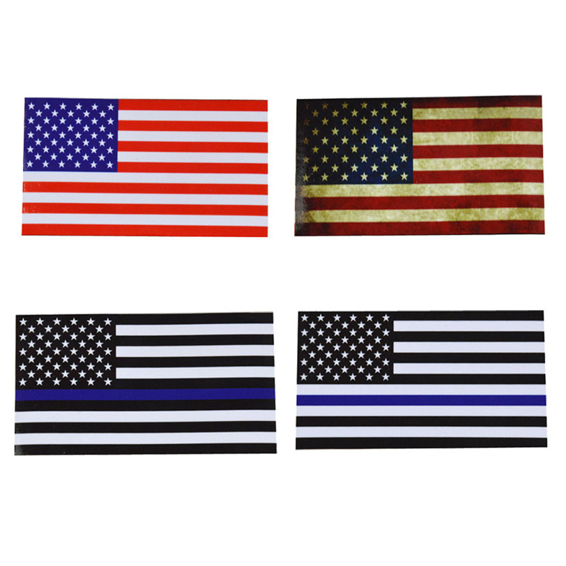 Flags Decal American Flag Sticker for Car Window, Laptop, Motorcycle, Walls, Mirror and More car-styling stickers new fashion
