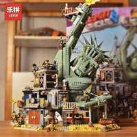 New Lepin 45014 Movie Series 3560pcs The 70840 Welcome to APOCALYPSEBURG Set Building Blocks Bricks Kid Toys Christmas Gift