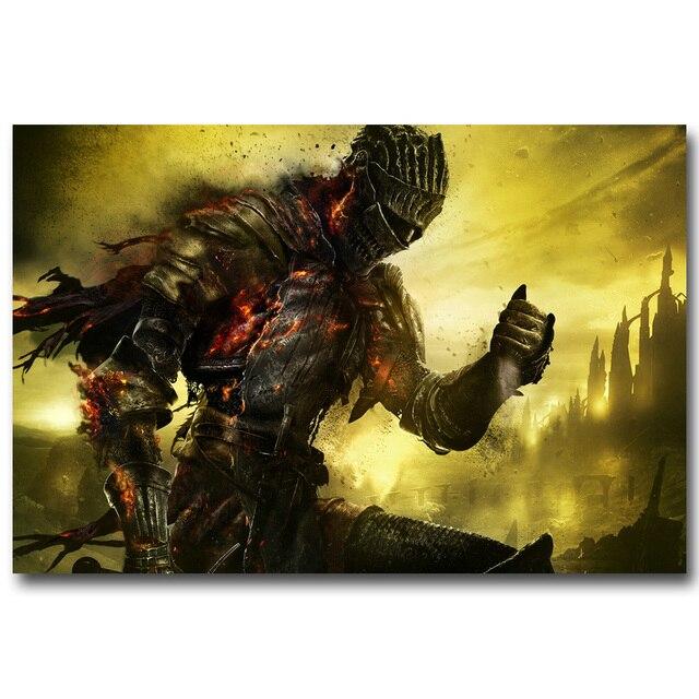 Плакат гобелен шелковый Dark Souls в ассортименте