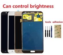 For Samsung Galaxy J7 2015 J700 SM-J700F J700M J700FN J700H/DS J700M/DS Display Screen Touch Digitizer Sensor Assembly 20 pins цена 2017