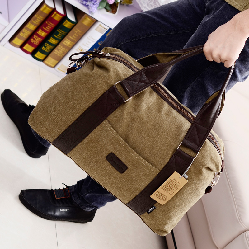 Popular Mens Duffle Bag Canvas-Buy Cheap Mens Duffle Bag Canvas ...