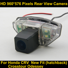 PAL HD 960*576 Pixels high definition Parking Rear view Camera for Honda CRV 2007 2008 2009 2010  Crosstour Odessey 2009 New Fit