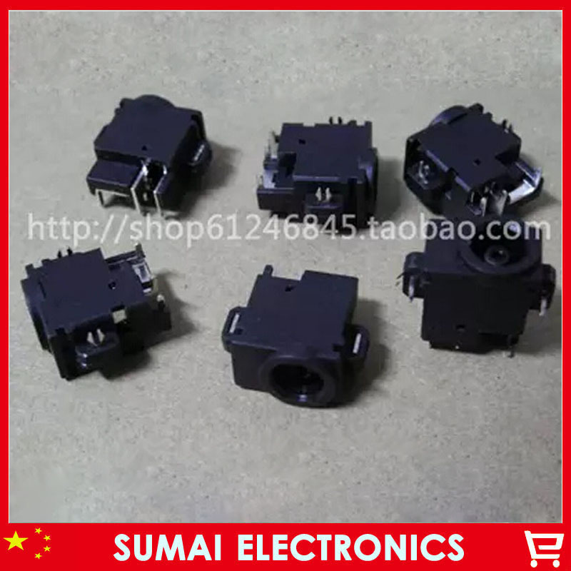 300lap top ss lot Original New DC Jack lap top Power Jack wire plug For Samsung