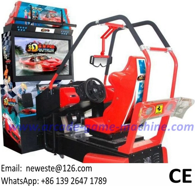 Hot Selling Luxury Outrun 3D Video Coin Operated Arcade