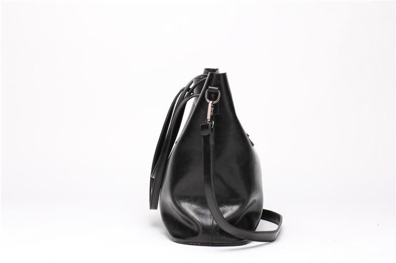 Women Tuff  Leather Tote Handbag 7