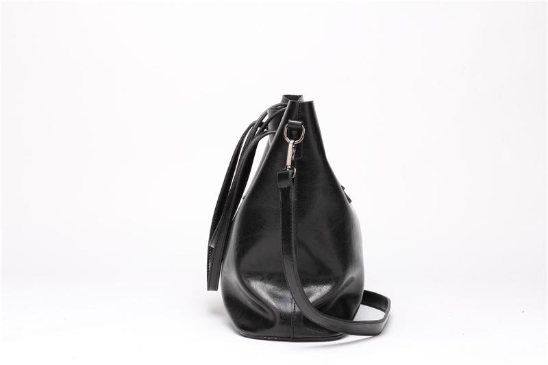DIDA BEAR Brand Women Leather Handbags Lady Large Tote Bag Female Pu Shoulder Bags Bolsas Femininas Sac A Main Brown Black Red 8