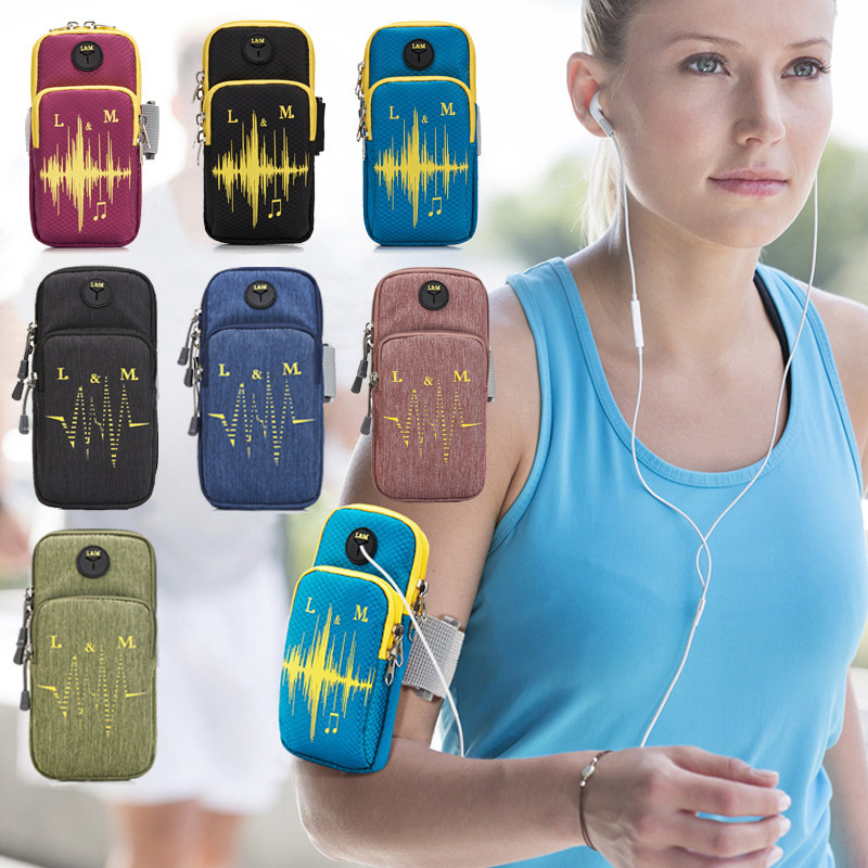 Armbands Able Universal Sport Running Bag Armband Mobile Phone Arm Band Outdoor Pouch For Iphone Huawei Samsung Jlrl88 Selling Well All Over The World
