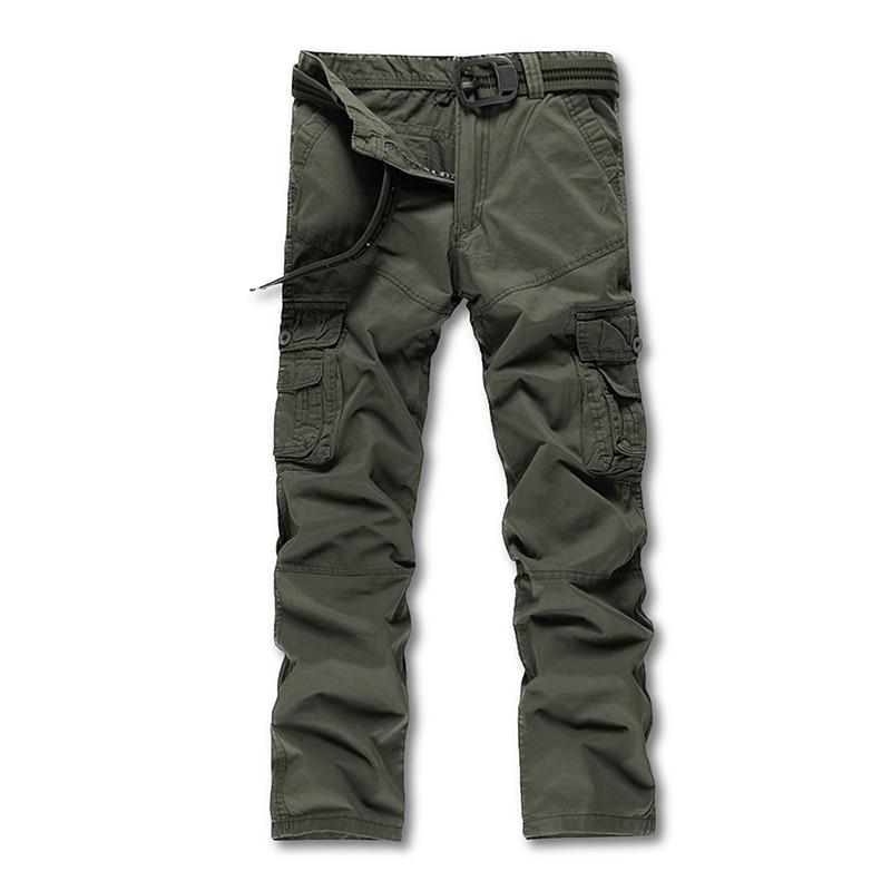 Poches 28 Beige kaki army Mens Armée Green Cargo Militaire Qualité Gris noir Taille ardoisé Avec Full Lnegth 40 Foncé Pantalon Multi Haute xSFqa7q6